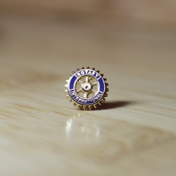 Rotary Member Lapel Pin, 11mm
