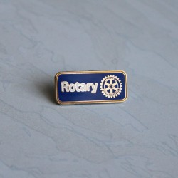 NEW Rotary Member Pin, blue
