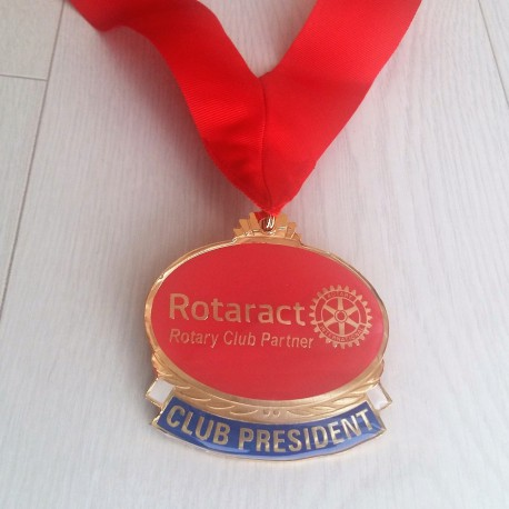 Rotaract President Collar