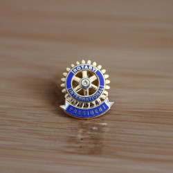 Rotary Club President Lapel Pin
