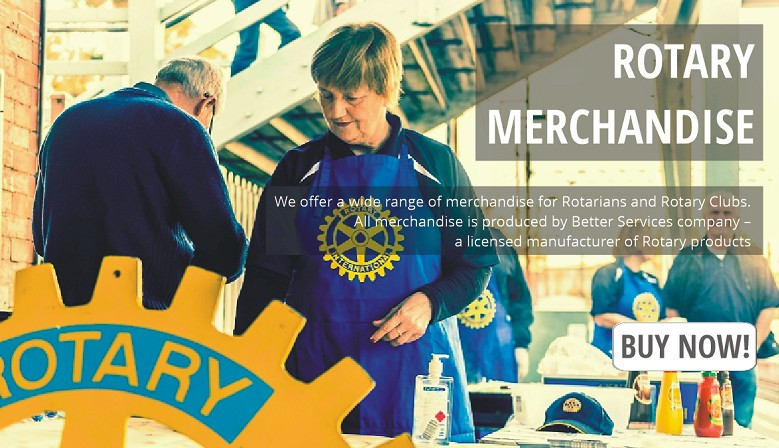 Buy merchandise for Rotarians and Rotary Clubs