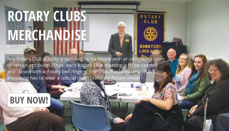 Buy Rotary Clubs merchandise